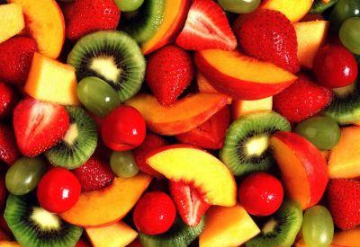fruitsalade salade verpakte salade