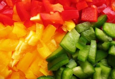 groente gesneden verpakt